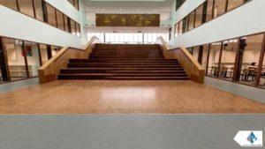 Centrale hal Merletcollege Cuijk