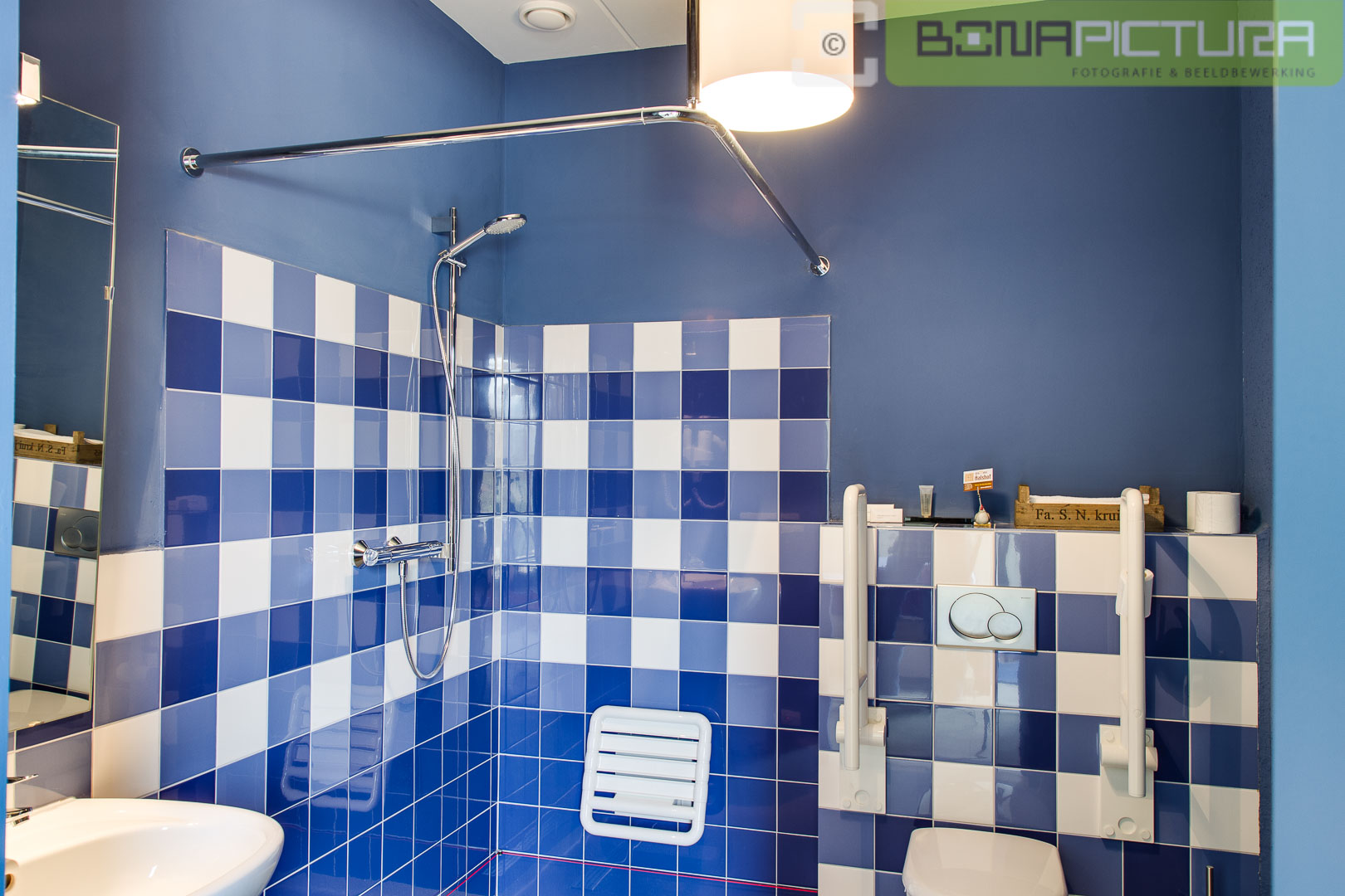 Invaliden badkamer - Bona Pictura
